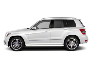 Arctic White 2010 Mercedes-Benz GLK-Class Pictures GLK-Class Utility 4D GLK350 AWD photos side view