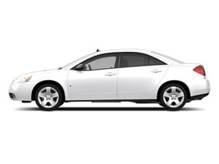 Summit White 2010 Pontiac G6 Pictures G6 Sedan 4D photos side view