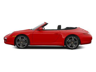 Guards Red 2010 Porsche 911 Pictures 911 Cabriolet 2D Turbo AWD photos side view