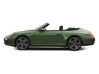 Porsche Racing Green Metallic 2010 Porsche 911 Pictures 911 Cabriolet 2D 4 AWD photos side view