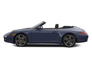 Dark Blue Metallic 2010 Porsche 911 Pictures 911 Cabriolet 2D 4 AWD photos side view