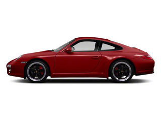 Ruby Red Metallic 2010 Porsche 911 Pictures 911 Coupe 2D 4S AWD photos side view