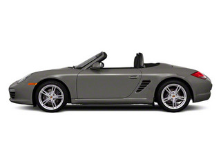 Meteor Grey Metallic 2010 Porsche Boxster Pictures Boxster Roadster 2D photos side view
