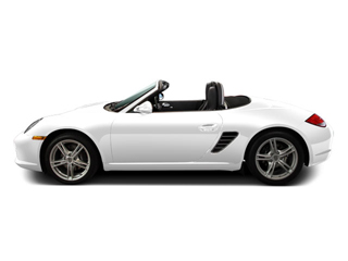 Carrara White 2010 Porsche Boxster Pictures Boxster Roadster 2D S photos side view