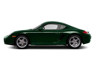 Malachite Green Metallic 2010 Porsche Cayman Pictures Cayman Coupe 2D photos side view