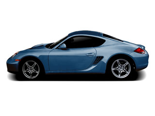 Aqua Blue Metallic 2010 Porsche Cayman Pictures Cayman Coupe 2D S photos side view