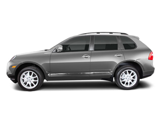 Crystal Silver Metallic 2010 Porsche Cayenne Pictures Cayenne Utility 4D Turbo AWD (V8) photos side view
