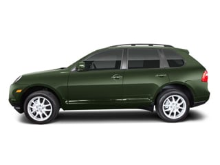 Olive Green Metallic 2010 Porsche Cayenne Pictures Cayenne Utility 4D Turbo AWD (V8) photos side view