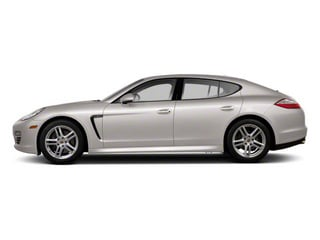Platinum Silver Metallic 2010 Porsche Panamera Pictures Panamera Hatchback 4D Turbo AWD photos side view