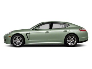 Crystal Green Metallic 2010 Porsche Panamera Pictures Panamera Hatchback 4D 4S AWD photos side view