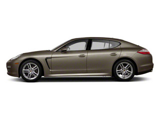 Topaz Brown Metallic 2010 Porsche Panamera Pictures Panamera Hatchback 4D S photos side view