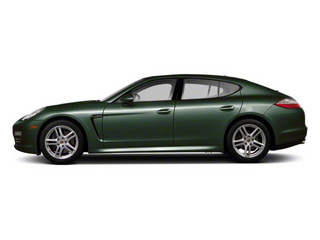 Jet Green Metallic 2010 Porsche Panamera Pictures Panamera Hatchback 4D S photos side view