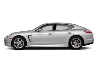 GT Silver Metallic 2010 Porsche Panamera Pictures Panamera Hatchback 4D Turbo AWD photos side view