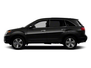 Crystal Black Pearl 2011 Acura MDX Pictures MDX Utility 4D Technology AWD photos side view