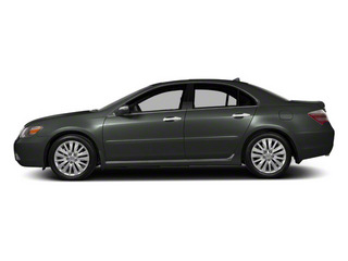 Graphite Luster Metallic 2011 Acura RL Pictures RL Sedan 4D Technology photos side view