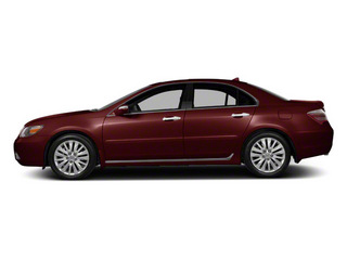 Pomegranate Pearl 2011 Acura RL Pictures RL Sedan 4D Technology photos side view