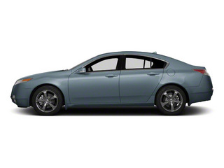 Borealis Blue Pearl 2011 Acura TL Pictures TL Sedan 4D Technology photos side view