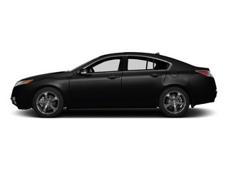 Crystal Black Pearl 2011 Acura TL Pictures TL Sedan 4D AWD photos side view
