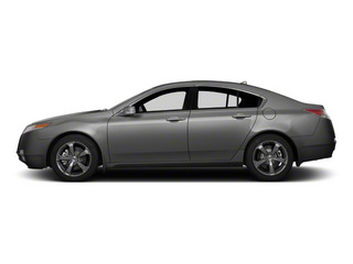 Polished Metal Metallic 2011 Acura TL Pictures TL Sedan 4D AWD photos side view