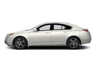 White Diamond Pearl 2011 Acura TL Pictures TL Sedan 4D AWD photos side view
