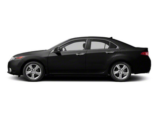 Crystal Black Pearl 2011 Acura TSX Pictures TSX Sedan 4D Technology photos side view