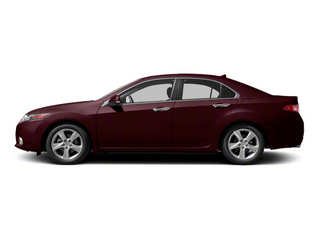 Basque Red Pearl 2011 Acura TSX Pictures TSX Sedan 4D photos side view