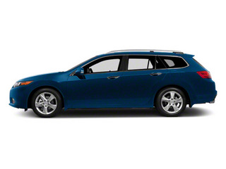 Vortex Blue Pearl 2011 Acura TSX Sport Wagon Pictures TSX Sport Wagon 4D photos side view