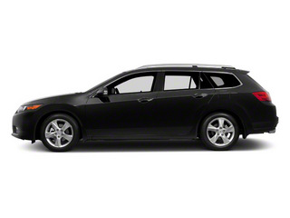 Crystal Black Pearl 2011 Acura TSX Sport Wagon Pictures TSX Sport Wagon 4D photos side view