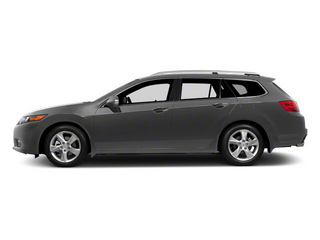 Graphite Luster Metallic 2011 Acura TSX Sport Wagon Pictures TSX Sport Wagon 4D photos side view