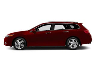 Basque Red Pearl 2011 Acura TSX Sport Wagon Pictures TSX Sport Wagon 4D Technology photos side view