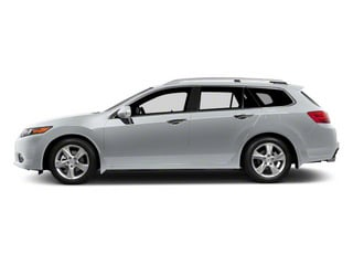 Forged Silver Metallic 2011 Acura TSX Sport Wagon Pictures TSX Sport Wagon 4D Technology photos side view