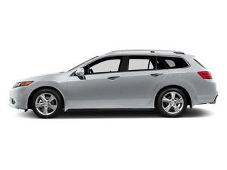 Forged Silver Metallic 2011 Acura TSX Sport Wagon Pictures TSX Sport Wagon 4D photos side view