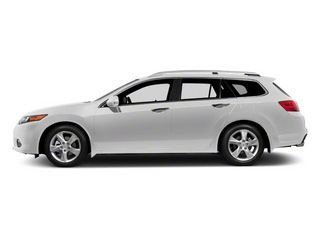 Premium White Pearl 2011 Acura TSX Sport Wagon Pictures TSX Sport Wagon 4D photos side view