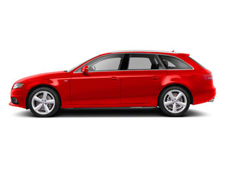 Brilliant Red 2011 Audi A4 Pictures A4 Wagon 4D 2.0T Quattro Premium Plus photos side view