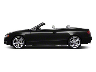 Brilliant Black 2011 Audi A5 Pictures A5 Convertible 2D Prestige photos side view