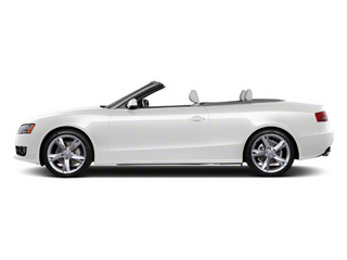 Ibis White 2011 Audi A5 Pictures A5 Convertible 2D Prestige photos side view