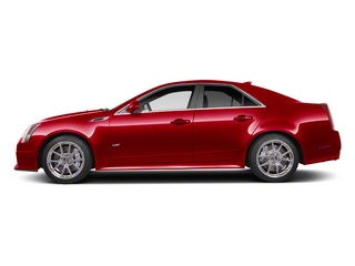 Crystal Red Tintcoat 2011 Cadillac CTS-V Sedan Pictures CTS-V Sedan 4D V-Series photos side view