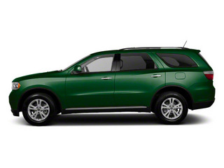 Natural Green Pearl 2011 Dodge Durango Pictures Durango Utility 4D Crew 2WD photos side view