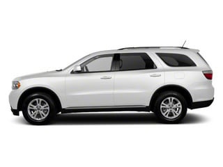 Stone White 2011 Dodge Durango Pictures Durango Utility 4D Crew 2WD photos side view