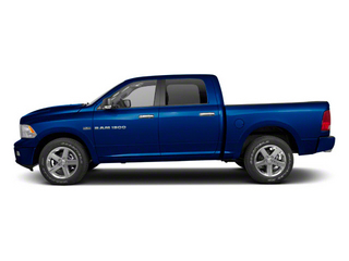 Deep Water Blue Pearl 2011 Ram Truck 1500 Pictures 1500 Crew Cab SLT 2WD photos side view