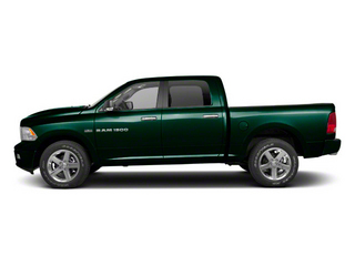 Hunter Green Pearl 2011 Ram Truck 1500 Pictures 1500 Crew Cab SLT 2WD photos side view