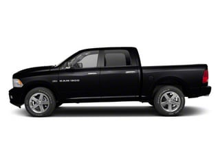Brilliant Black Crystal Pearl 2011 Ram Truck 1500 Pictures 1500 Crew Cab SLT 2WD photos side view