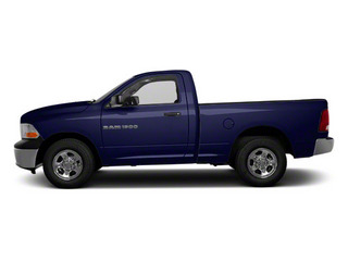 Midnight Blue Pearl 2011 Ram Truck 1500 Pictures 1500 Regular Cab Tradesman 4WD photos side view