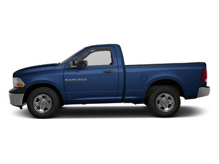 Deep Water Blue Pearl 2011 Ram Truck 1500 Pictures 1500 Regular Cab Tradesman 4WD photos side view