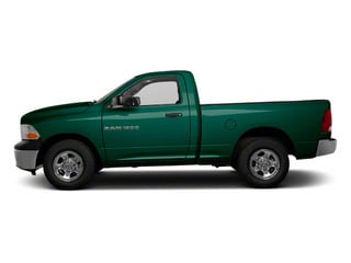 Hunter Green Pearl 2011 Ram Truck 1500 Pictures 1500 Regular Cab Tradesman 4WD photos side view