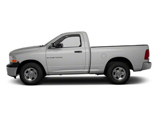 Bright Silver Metallic 2011 Ram Truck 1500 Pictures 1500 Regular Cab Tradesman 4WD photos side view