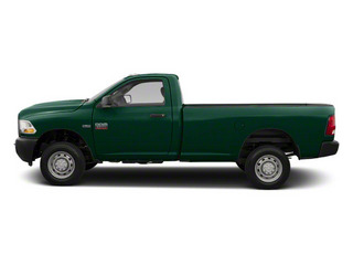 Hunter Green Pearl 2011 Ram Truck 2500 Pictures 2500 Regular Cab Outdoorsman 2WD photos side view