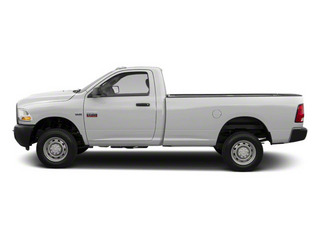 Bright White 2011 Ram Truck 2500 Pictures 2500 Regular Cab Outdoorsman 2WD photos side view