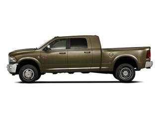 Sagebrush Pearl 2011 Ram Truck 3500 Pictures 3500 Mega Cab Longhorn 4WD photos side view