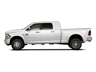 Bright White 2011 Ram Truck 3500 Pictures 3500 Mega Cab Longhorn 4WD photos side view